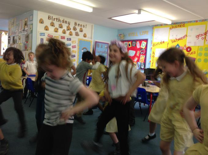 our class celebration disco