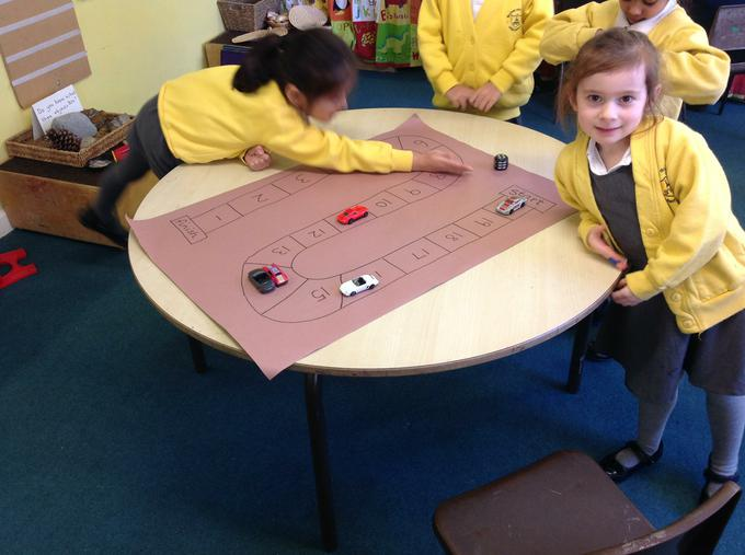 Using subtraction in our race track game