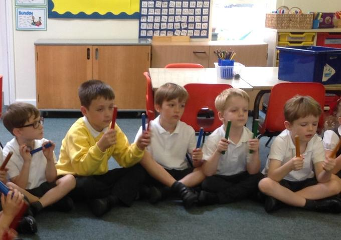 Learning about different rhythms