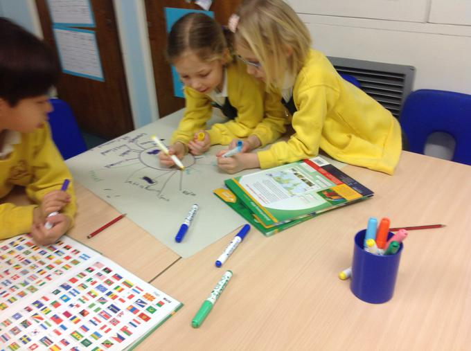 Finding out about continents
