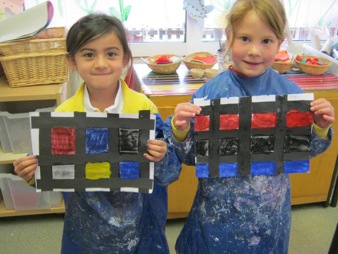 Our Mondrian inspired pictures
