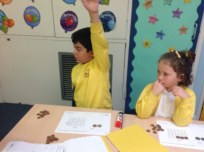 Using money in our maths learning