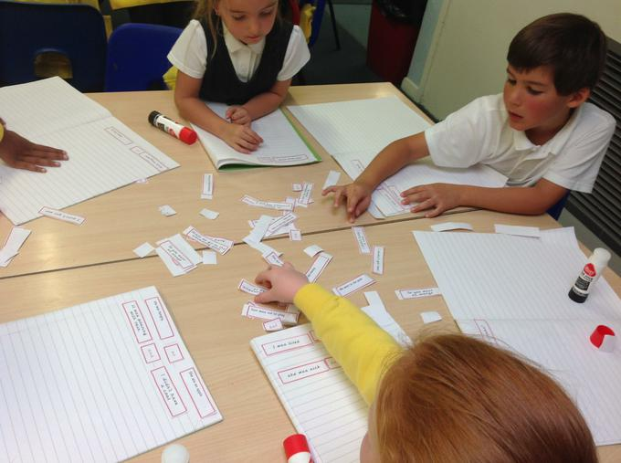 We looked at adding contractions in sentences