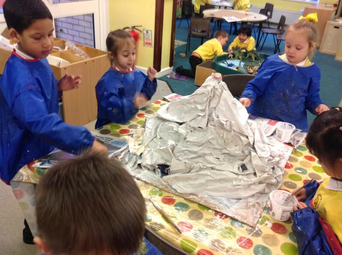Making our volcano