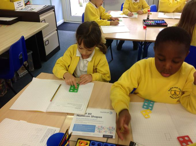Look at our maths learning!