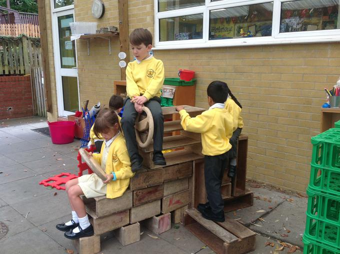 We worked together to build a plane