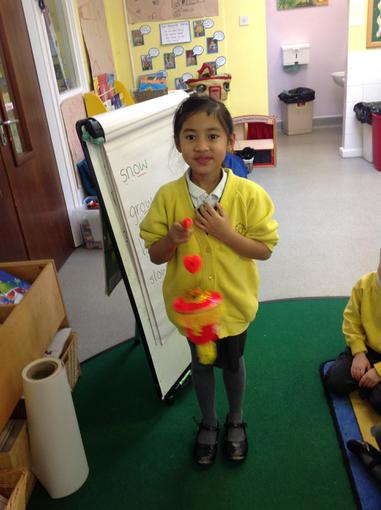 We learned about Chinese New Year