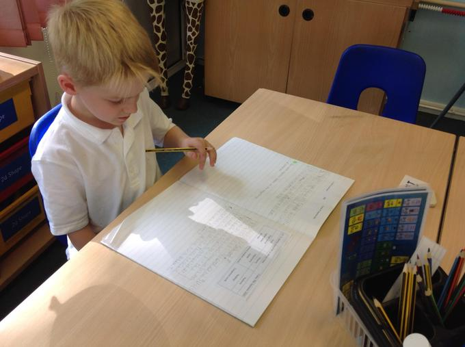 Writing facts about schools in the past