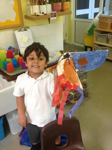We made our own toucans