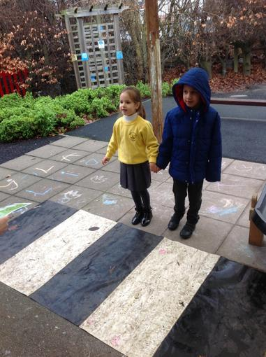 Learning to cross the road safely