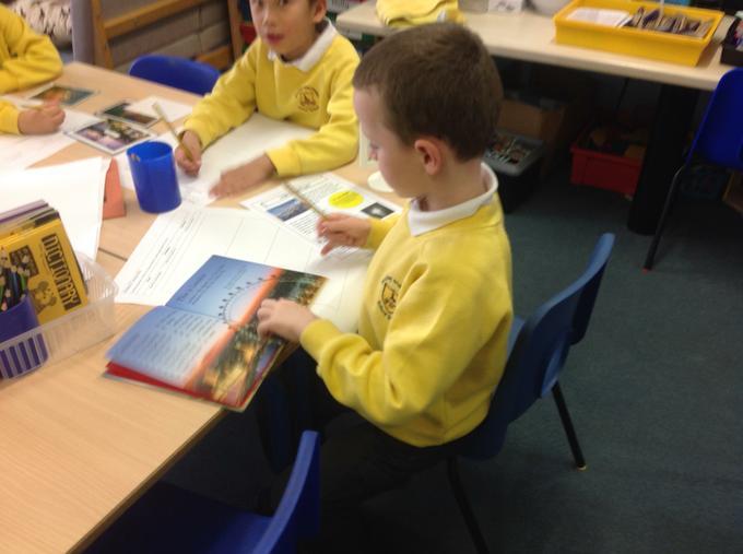 Researching London landmarks