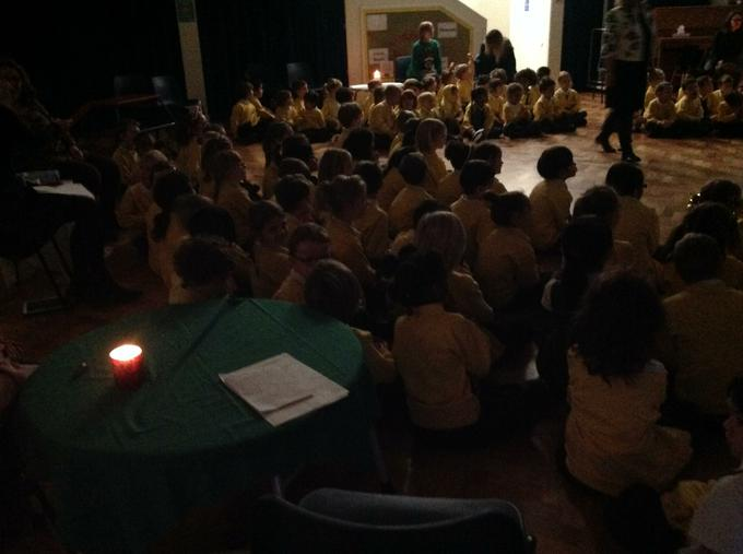 Our end of term carol service