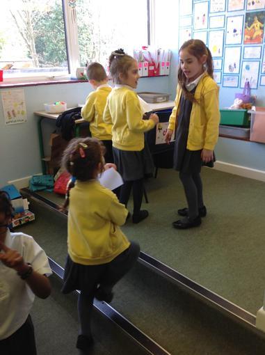 Practising our drama