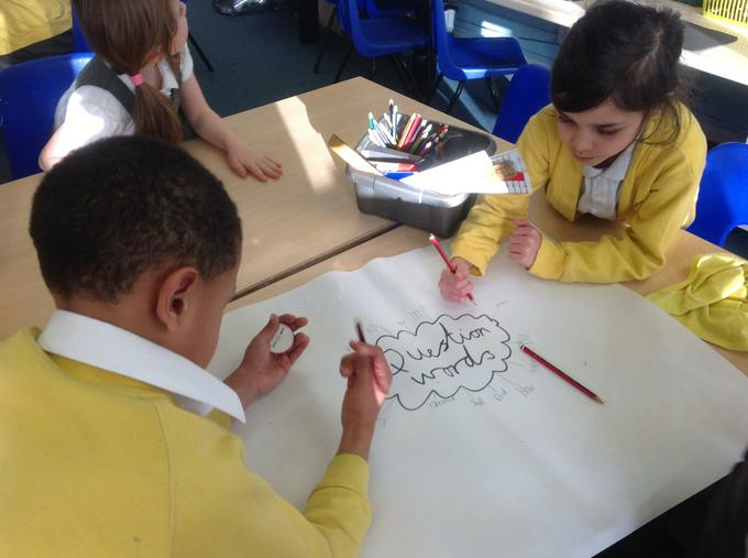 Group work on questions