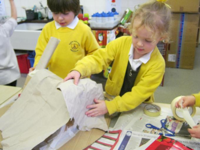 Lots of children shared their ideas