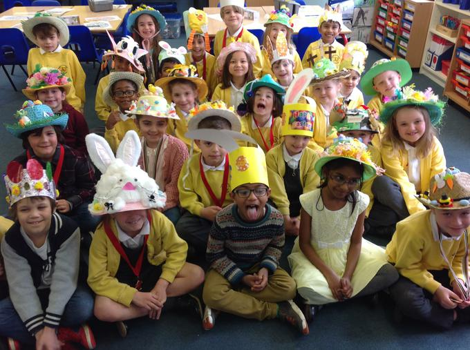 our amazing Easter bonnets