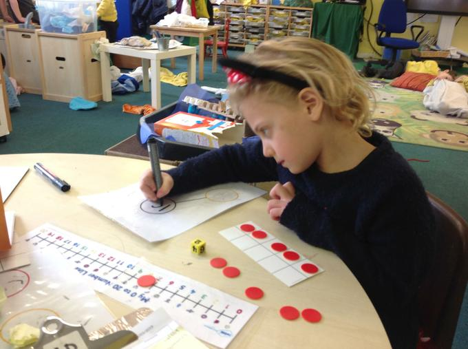 Subtraction using 10 frames