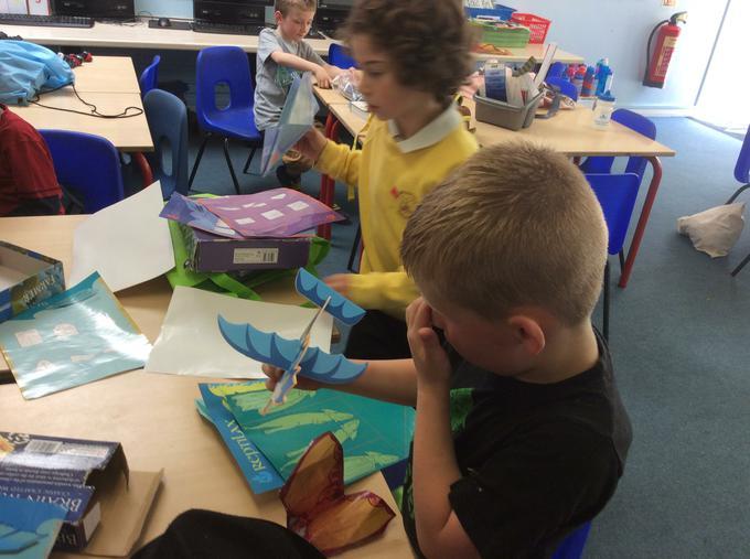 Making paper aeroplanes