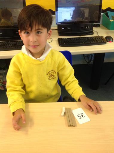 Using dienes to represent numbers