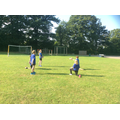 P.E. Tag Rugby passing warm up
