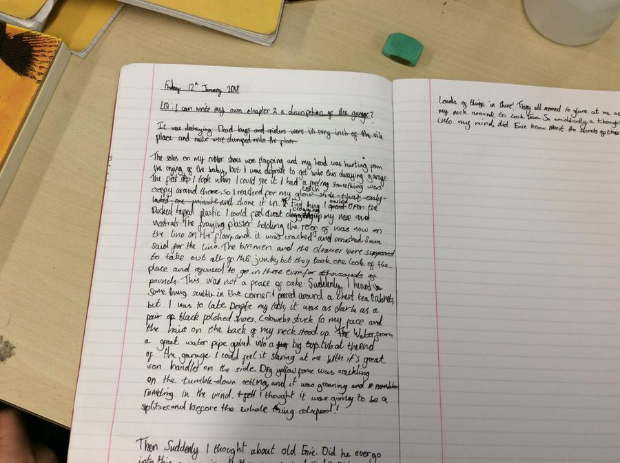 Writing like an author