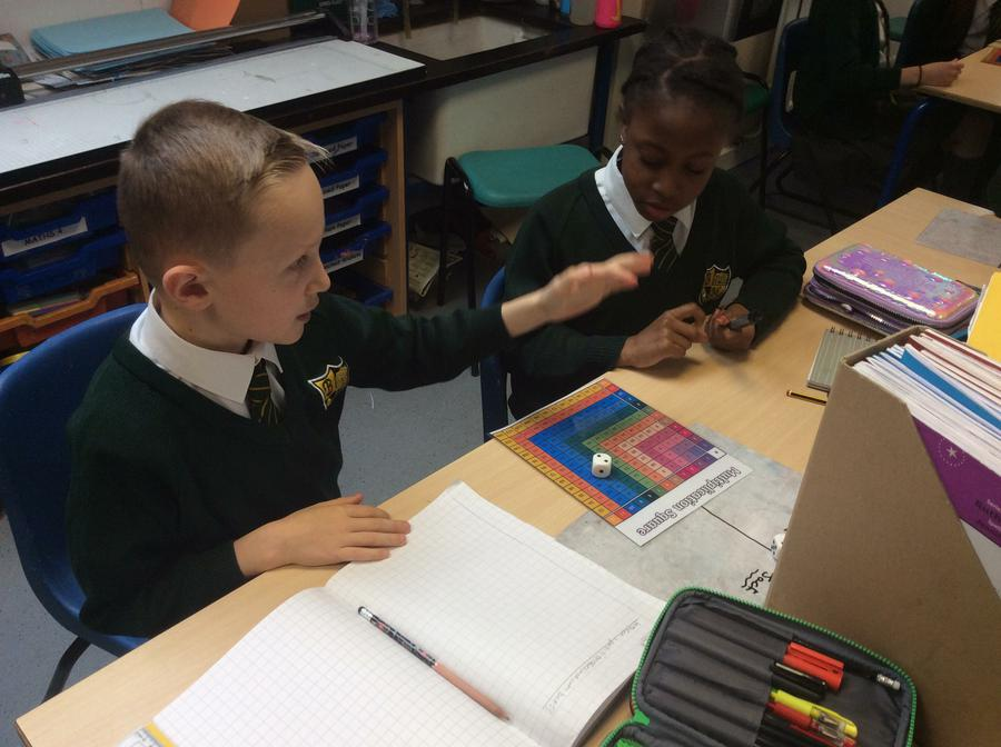 Playing a multiplication game