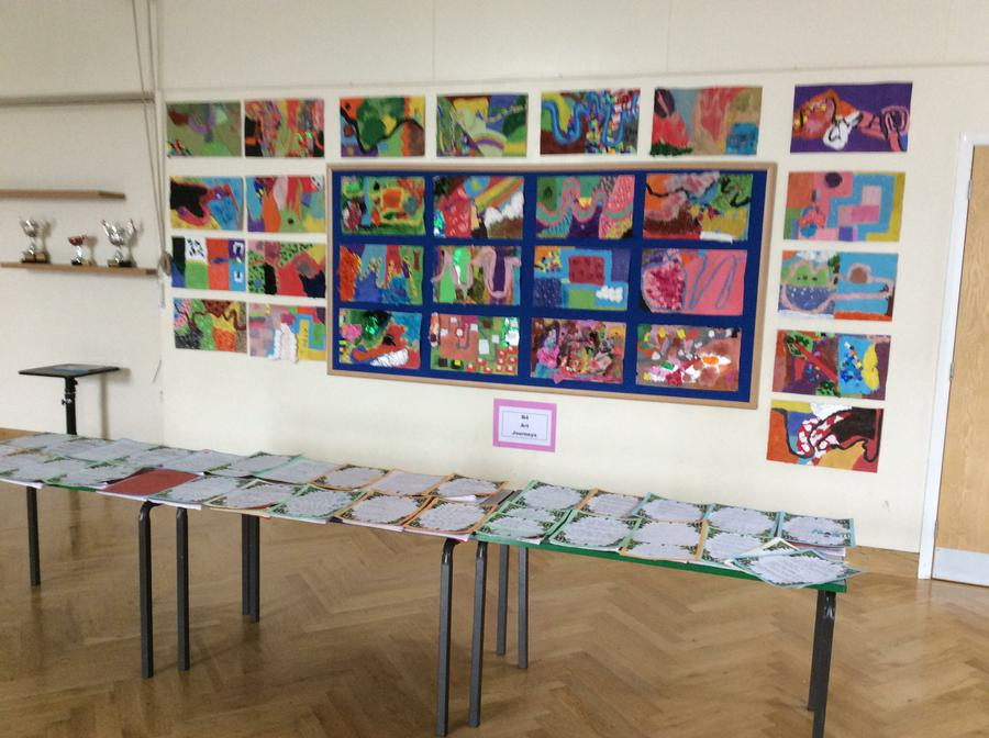 End of term gallery.