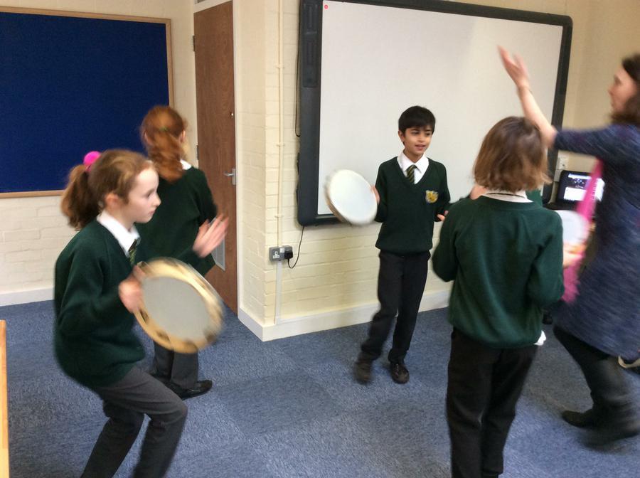Roman dancing