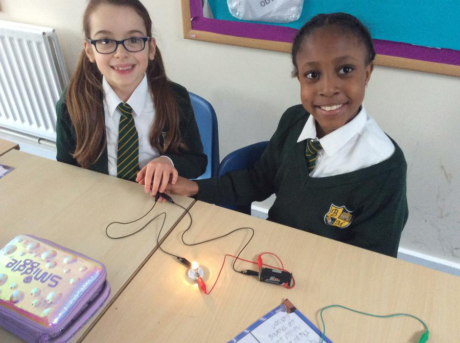 A complete circuit!