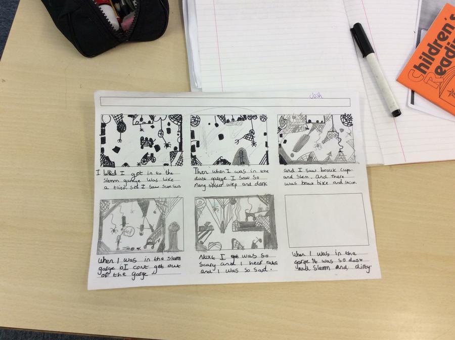 Skellig storyboard