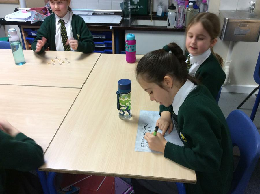 Using our game to write dialogue