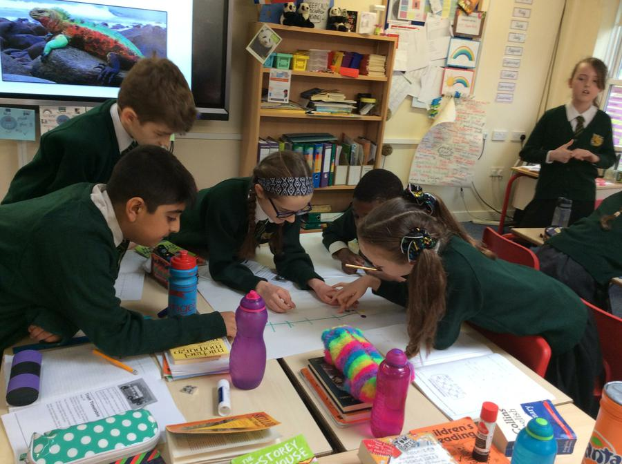 Team work and excellent explanations.