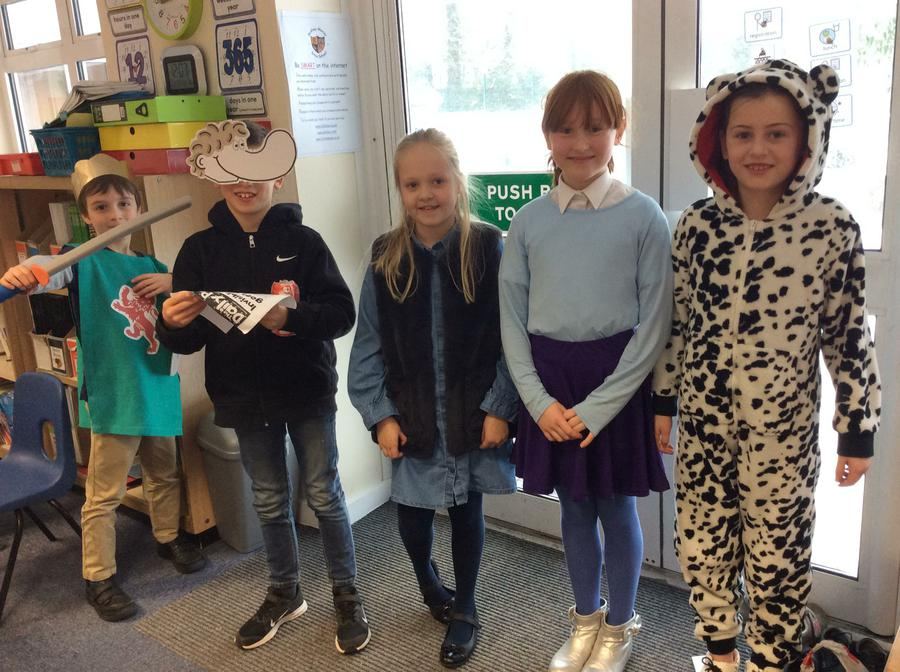 World Book Day in full flow