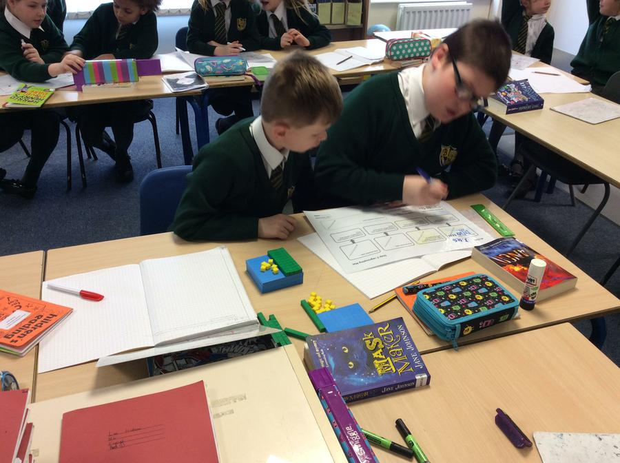Learning to partition decimals with dienes