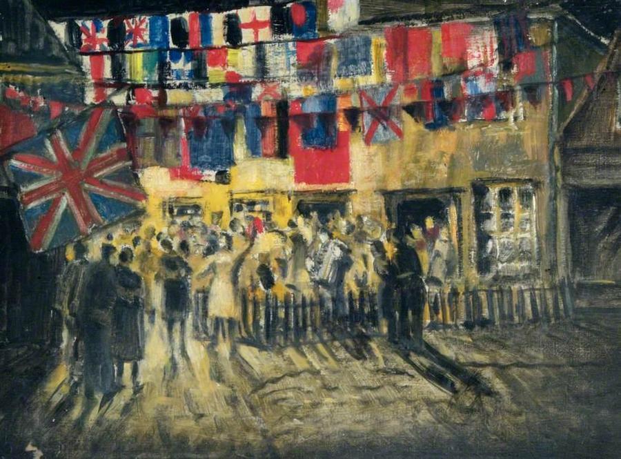 VE Day Celebrations - Hilary Dulcie Cobbet