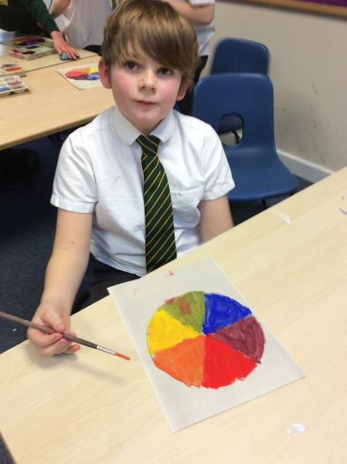 Finding primary and secondary colours