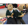 Reading for pleasure!