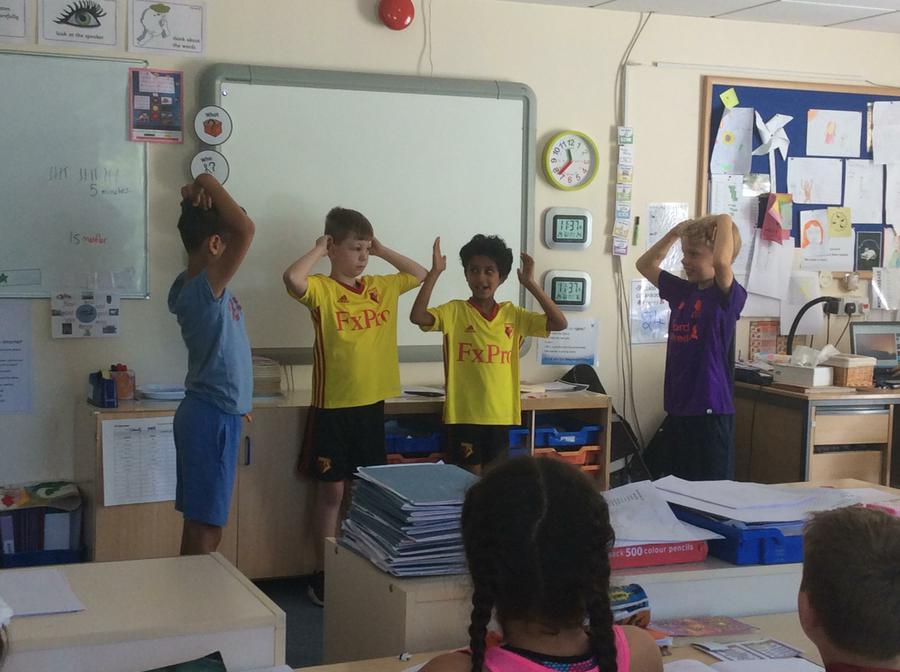 Dance interpretations of the seven ways of Jalal