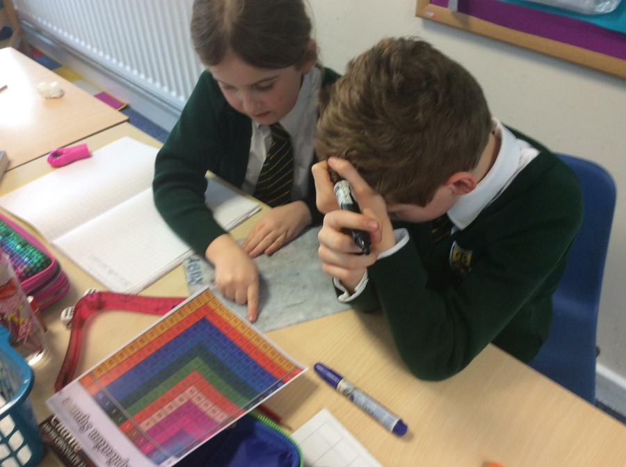 Checking our times tables