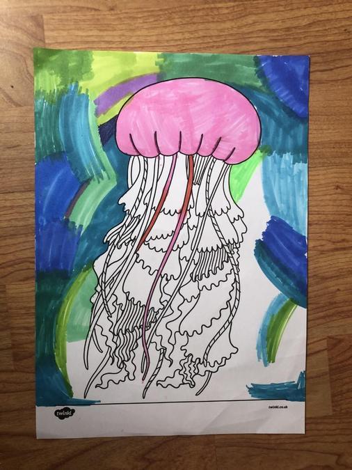 Jasmine's Ocean Art