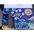 Ted's fantastic art inspired by Vincent Van Gough