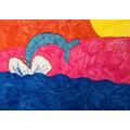 Jasmine's colourful art