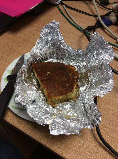Fadzai has made her own Roman cake!