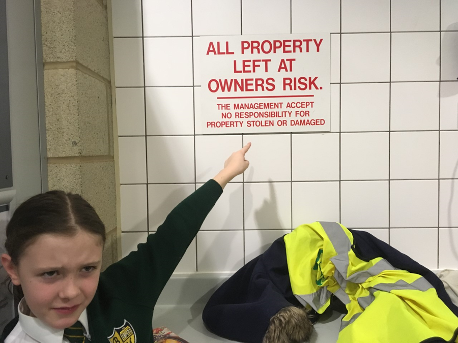 Spotting missing apostrophes at the leisure centre