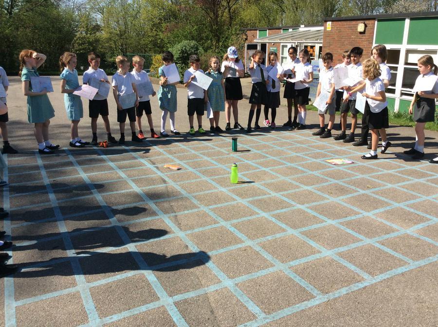 Our coordinates grid