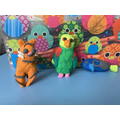 Poppy - animal figures