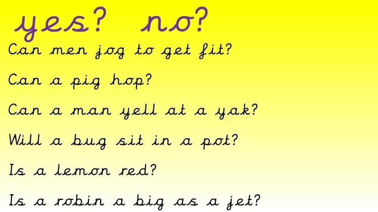 If reading the whole question is a bit tricky, see if you can spot any graphemes you know.