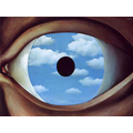 Year 5: The False Mirror by Rene Magritte
