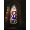 Visit to St. Leonard's church, Butleigh
