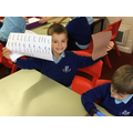 We've been practising our handwriting